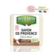 【法國 玫翠思】有機植物皂100g(乳木果油)-6入
