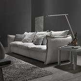 布藝沙發現代簡約客廳整裝三人位乳膠四人位直排北歐沙發小戶型