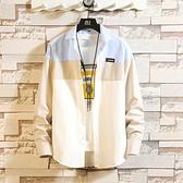 夏季薄款襯衫長袖短袖男裝半袖修身休閒襯衣韓版青年學生打底潮寸