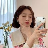 芒果飾品耳環2020新款潮韓國秋冬氣質珍珠耳釘耳夾無耳洞女耳飾 極簡雜貨
