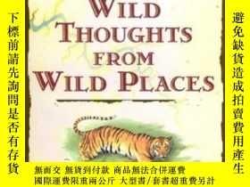 二手書博民逛書店Wild罕見Thoughts From Wild PlacesY255562 David Quammen Sc