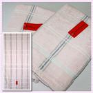 【衣襪酷】Roberta 格紋印花浴巾(66x137cm) 諾貝達 居家必備精品《毛巾/澡巾/海灘巾》