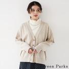 「Winter」基本前釦針織罩衫外套 - Green Parks
