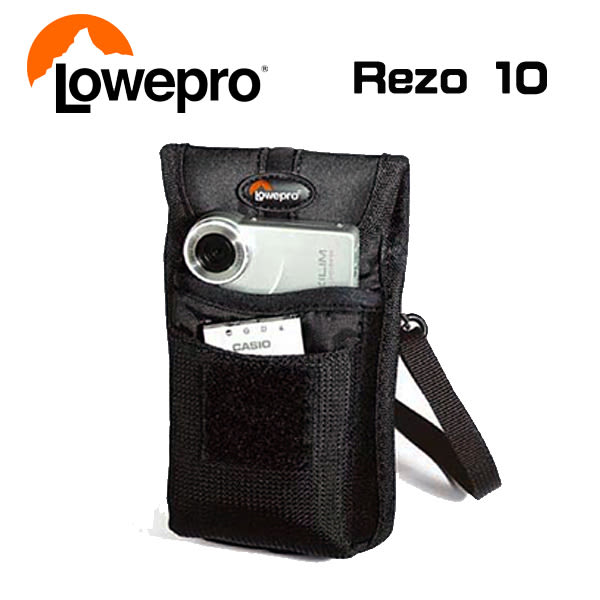 【LOWEPRO】 羅普 Rezo 10 麗梭 多功能相機袋 黑 (立福公司貨)