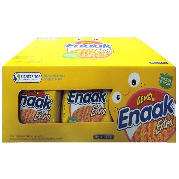 韓國 Enaak 韓式小雞麵-雞汁味(盒裝30gx24包)【小三美日】點心麵
