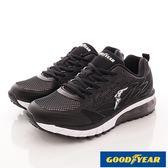 【GOODYEAR】緩震氣墊運動鞋-GAMR73150-黑-男段-0
