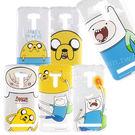 Adventure time 探險活寶 ASUS ZenFone Selfie(ZD551KL) 可愛透明彩繪保護軟套-主角系列