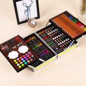 兒童畫筆套裝美術學習用品畫畫工具繪畫蠟筆女孩水彩筆工具箱禮物MJBL 中秋節禮物