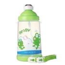 【179101268】DOOBY大眼蛙 彈跳吸管水壺(PP) 650cc-綠