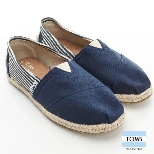 TOMS 經典學院風懶人鞋-女款(001019B09 UNNVY)
