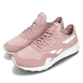 Reebok 休閒慢跑鞋 CL Nylon SP 粉紅 白 輕量鞋面 運動鞋 女鞋【PUMP306】 CN8655