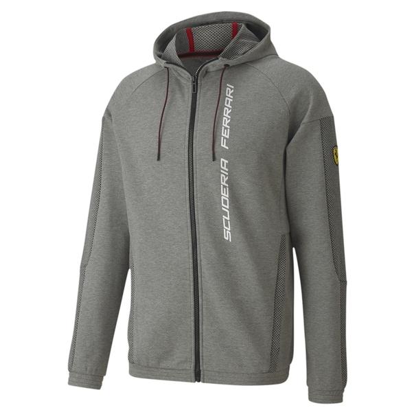 Puma Scuderia 灰 外套 男 棉質外套 聯名款 運動 Ferrari 慢跑 長袖外套 連帽外套 59795103