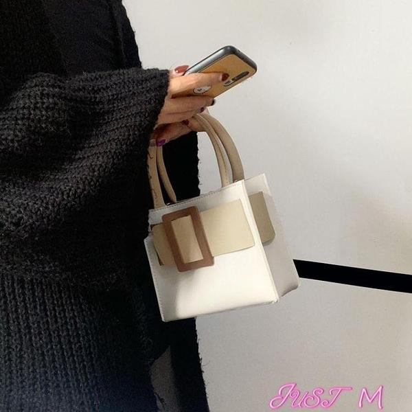 手提包包包女小眾設計奶油蛋糕托特包手提包小包包斜背包女包新款潮 JUST M