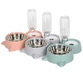 全館83折寵物碗貓碗雙碗自動飲水食盆狗狗碗貓咪水碗防打翻