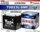 ✚久大電池❚ YUASA 湯淺 75D2...