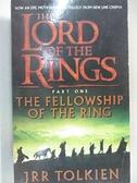 【書寶二手書T1/原文小說_HRV】The Lord of The Rings:The Fellowship of the Ring_JRR TOLKIEN