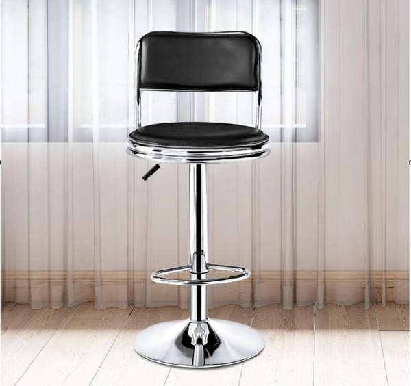 吧台椅酒吧椅升降實驗室圓凳子家用靠背椅高腳凳旋轉車間工作凳子 【全館免運】