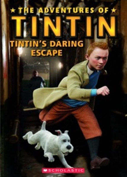 (二手書)Scholastic Popcorn Readers Level 1: Tintin's Daring Escape with ..