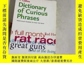 二手書博民逛書店Collins罕見Dictionary of – Curious