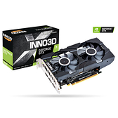 Inno3D 映眾 Geforce GTX1650 TWIN X2 OC GDDR6 4G 顯示卡 (N16502-04D6X-1177VA25)