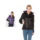 【SAMLIX 山力士】女 美國PRIMALOFT超輕暖保溫棉外套(#38611紫色.黑色)