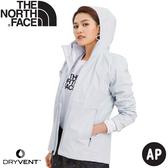 【The North Face 女  防水夾克《白》】3V9D/防水外套/防風外套/外套