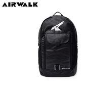 【橘子包包館】AIRWALK 菱點鋒動旅行後背包 A755320420 黑色