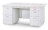 【IS空間美學】寬160公分雙邊辦公桌(左二屜右三屜)