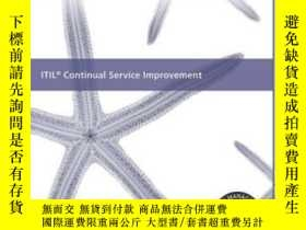 二手書博民逛書店Itil罕見Continual Service Improvement (best Management Prac