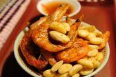 免運(超商取貨)~14包~蒜味~大尾香脆酥蝦---蝦噗SHOP