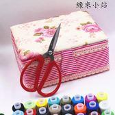 家用布藝針線盒套裝縫補針線包