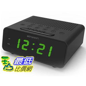 [美國直購]   Emerson SmartSet Alarm Clock Radio (CKS1900) 鬧鐘收音機