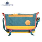 【COLORSMITH】UOC・隨行郵差包-藍色・UOC1379-BL