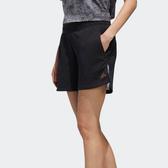 J- adidas U4U 短褲 休閒褲 運動褲 黑白 金標 串標 女款 透氣 舒適 GG3428