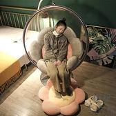 吊椅坐墊坐墊地上圓形地藤椅墊墊子【極簡生活】