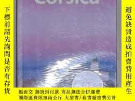 二手書博民逛書店英文原版罕見Lonely Planet Corsica by O