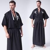 日本和服服裝正裝和服男士浴衣cos服裝武士服和服日本傳統武士裝 喜迎新春 全館5折起