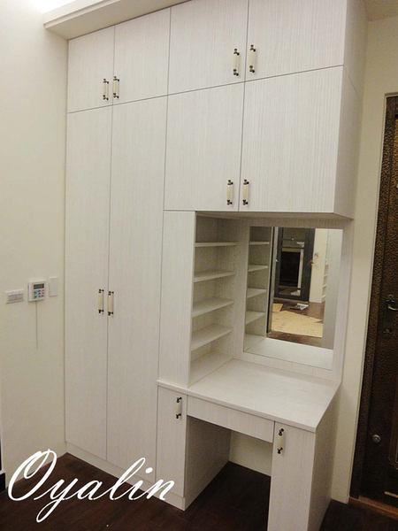 【歐雅系統家具】化妝檯+衣櫃 套房式整體設計 總價49360特價34552