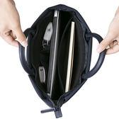 手提包男士手拿商務公文包防水尼龍單肩包男休閒包包電腦包潮男包