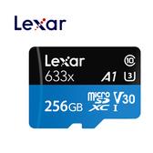 (原廠公司貨) Lexar T-F 256G (95M) 633X 記憶卡