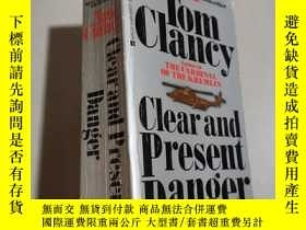 二手書博民逛書店Clear罕見and Present Danger 燃眉追擊Y2