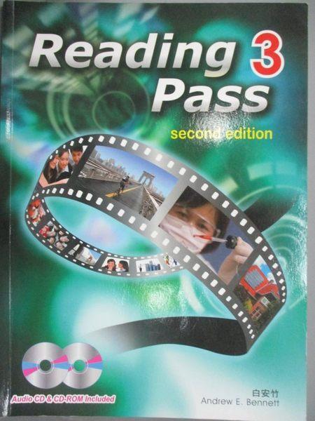 【書寶二手書T9/言情小說_ZIZ】Reading Pass 3(第二版)(with audio CD and CD r