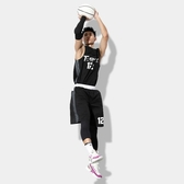 籃球服套裝男個性潮學生打籃球的衣服青少年球隊比賽球衣印字