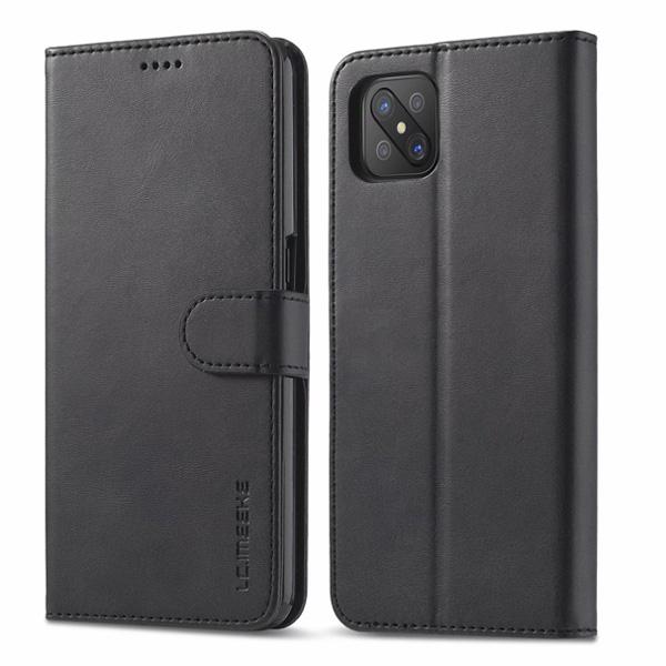 OPPO A53 A72 A9 A5 2020 Reno 4Z 小牛紋翻蓋 手機皮套 手機殼 插卡 支架 磁扣 皮套 保護套