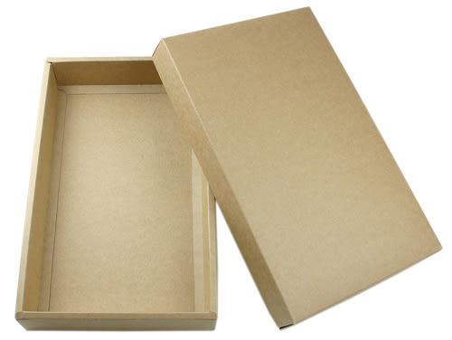 Z01002 (15入蛋規格) 素色牛皮盒-可加購內襯 (20入裝)