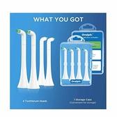 Oralphi 齒間刷頭 4入 適用Philips電動牙刷 [2美國直購]