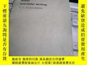 二手書博民逛書店Essay罕見and letter writing 散文與書信寫