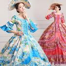 洋裝莎飄逸主題新款歐洲女宮廷服演出服裝影樓皇家歐式攝影服舞臺舞蹈