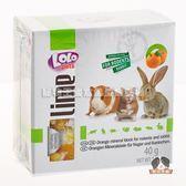 【寵物王國】LoLo小動物礦物質磨牙石(柑橘)40g