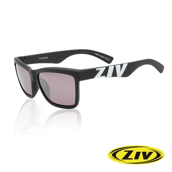 ZIV 優視 FLOATING 太陽眼鏡/戶外用『霧黑框/紫電淺水銀』F10-3023 遮陽必備 海灘 開車 度假